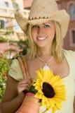 Sonnenblume u. Art Stockfoto