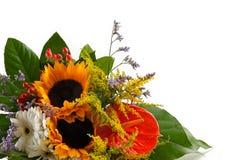 Sonnenblumeblumenstrauß lizenzfreie stockfotografie