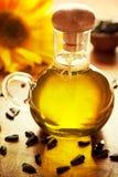 Sonnenblumenöl Stockfotografie