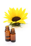 Sonnenblumenöl lizenzfreie stockfotografie