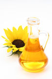 Sonnenblumenöl stockbild