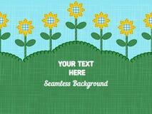 Sonnenblumen-Hintergrund stock abbildung