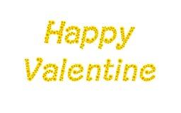 Sonnenblumen-Valentinstag Stockfotografie