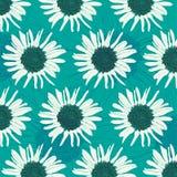 Sonnenblumenmuster Lizenzfreies Stockfoto