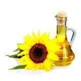 Sonnenblumensamenschmieröl Lizenzfreie Stockfotos