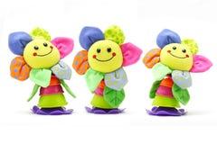 Sonnenblumesmiley-Gesichtspuppen Lizenzfreies Stockbild