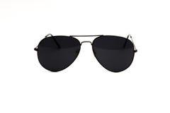 Sonnenbrille auf einem weißen Hintergrund Lizenzfreie Stockfotografie