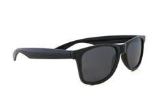 Sonnenbrille auf weißem Hintergrund Stockfotografie