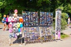 Sonnenbrille für Verkauf Stockbild