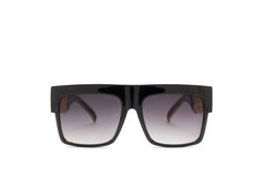 sonnenbrille Getrennt auf weißem Hintergrund Stockfotos