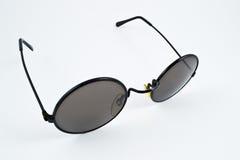 Sonnenbrille mit runden Linsen Lizenzfreies Stockfoto