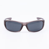 Sonnenbrille sieht von der Front an Stockbild