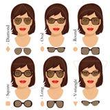 Sonnenbrilleformen 2 Lizenzfreie Stockfotografie