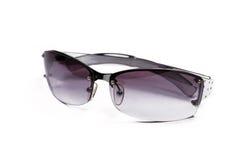 Sonnenbrillen auf Weiß Lizenzfreies Stockbild