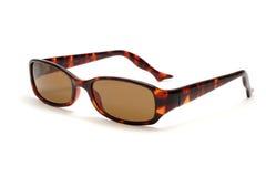 Sonnenbrillen auf weißem Hintergrund Lizenzfreie Stockbilder