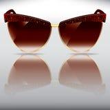 Sonnenbrillen der alten Art Lizenzfreie Stockfotos