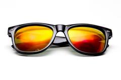 Sonnenbrillen getrennt auf Weiß Lizenzfreie Stockfotografie
