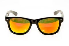Sonnenbrillen getrennt auf Weiß Stockfotografie