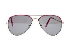Sonnenbrillen getrennt auf Weiß Lizenzfreie Stockfotos