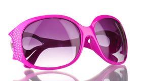 Sonnenbrillen mit Diamanten stockbilder