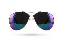 Sonnenbrillen reden lokalisiert auf weißem Hintergrund an Lizenzfreie Stockbilder