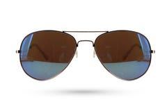 Sonnenbrillen reden lokalisiert auf weißem Hintergrund an Lizenzfreie Stockfotografie