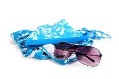 Sonnenbrillen und Bikini Lizenzfreie Stockbilder