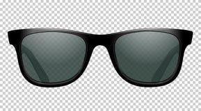 Sonnenbrillevektorillustration realistisch lizenzfreie abbildung