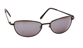 Sonnenbrilleweißhintergrund lizenzfreie stockfotos