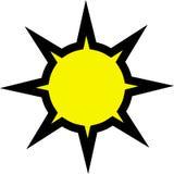 Sonnendurchbruch stockbilder