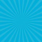 Sonnendurchbruch starburst mit Strahl des Lichtes Blaue Farbe Abstrakter Hintergrund der Schablone Flaches Design vektor abbildung