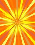 Sonnendurchbruchhintergrund Stockfotos