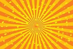 Sonnendurchbruchvektor Lizenzfreie Stockbilder
