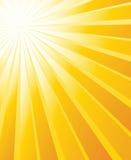 Sonnendurchbruchvektorhintergrund Stockbild