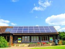 Sonnenenergie lizenzfreies stockfoto