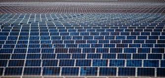 Sonnenenergie-Panels Lizenzfreie Stockbilder