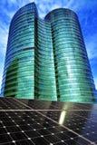 Sonnenenergie-Quelle in Bangkok lizenzfreie stockfotografie