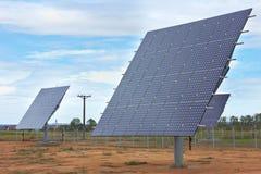 Sonnenenergie-Station stockfotografie