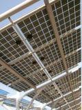 Sonnenenergiepanel stockfotografie