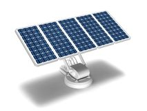Sonnenenergiepanels Stockbild