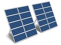 Sonnenenergiepanels Stockbilder