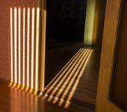 Sonneneruption auf dem Boden Lizenzfreies Stockfoto