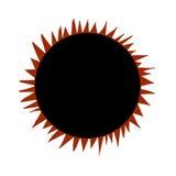 Sonnenfinsternis, Stockfoto