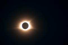Sonnenfinsternis 2017 Stockfotos