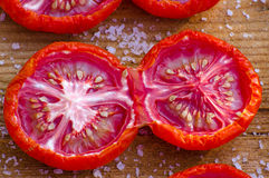 Sonnengetrocknete Tomate Lizenzfreie Stockfotos