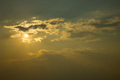 Sonnenhimmel Stockbilder