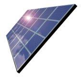Sonnenkollektor Stock Abbildung