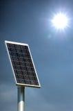 Sonnenkollektor Stockbild