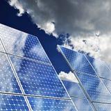 Sonnenkollektoren Lizenzfreie Stockfotos