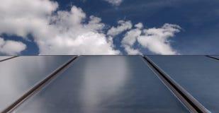 Sonnenkollektoren Stockbilder